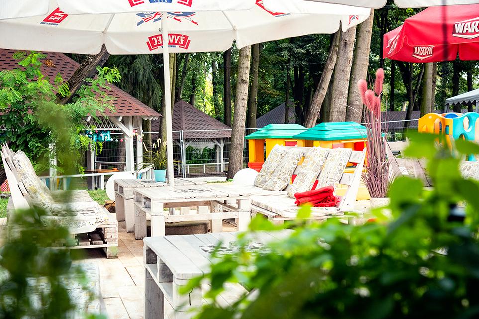 Ogródek restauracyjny Ciechanów